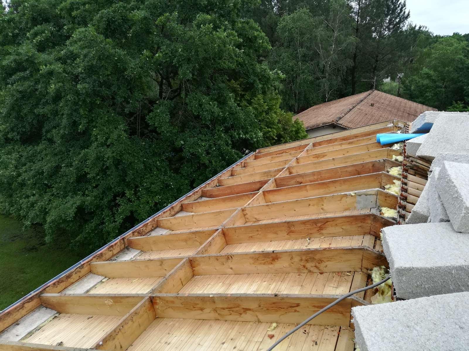 Isolation par l'extérieur de toiture